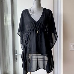 Sheer Swimsuit Cover Up